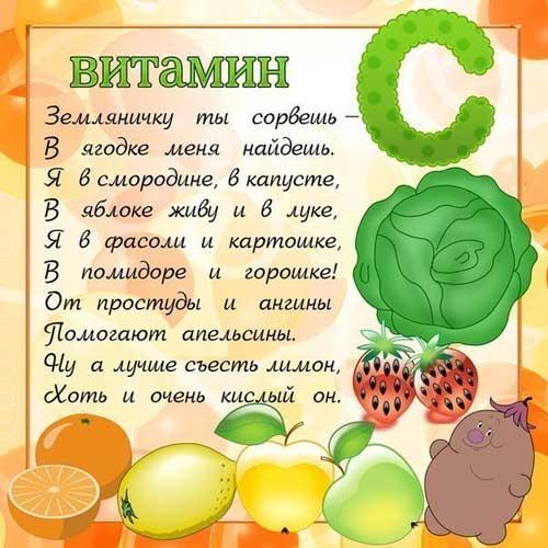 Витамин рисунок