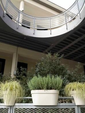 مركن دائري للشرفة مايمود رايل -