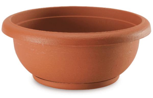 مركن تيرا الدائري مع صحن - 40 - Terrae Bowl with saucer