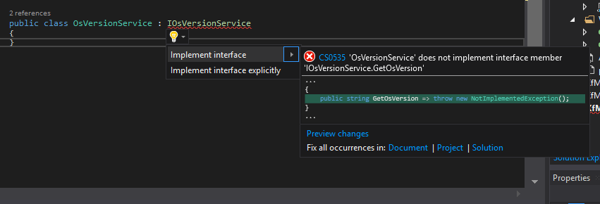 implement-interface-vs2017