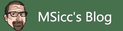 MSicc's Blog