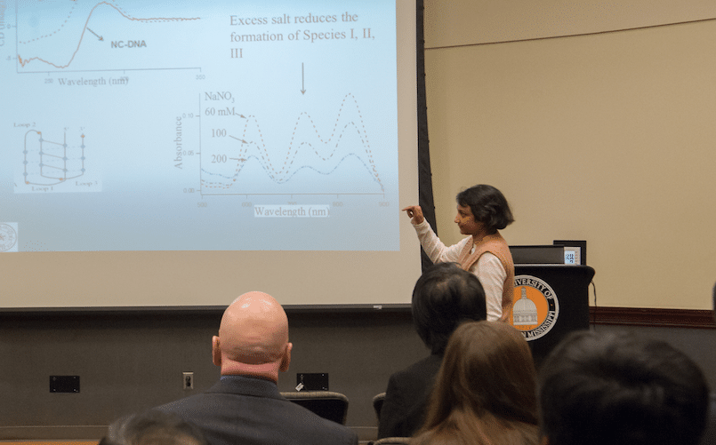 Dr. Bidisha Sengupta from Tougaloo College Published Research on Spectroscopic and Molecular Modeling