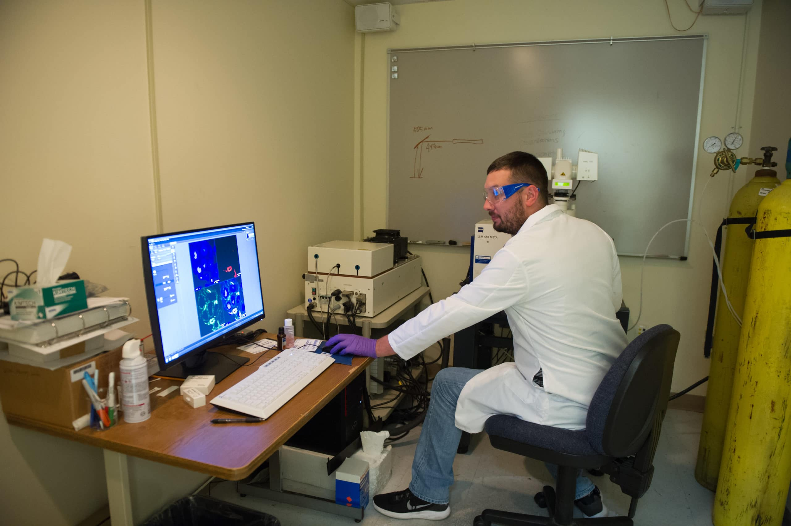 Catching Up with 2014 Mississippi INBRE Research Scholar, Gary Crispell