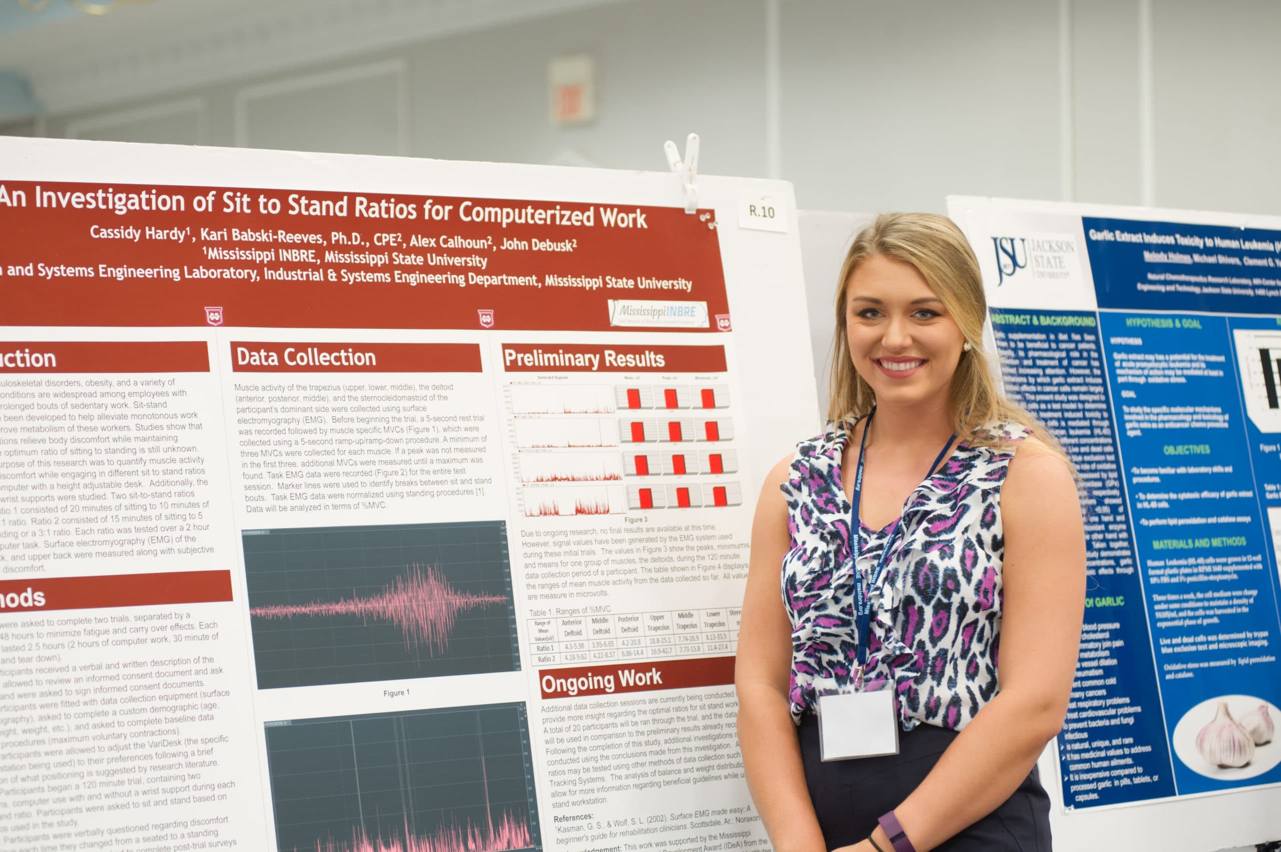 Catching up with 2016 Mississippi INBRE Research Scholar, Cassidy Hardy