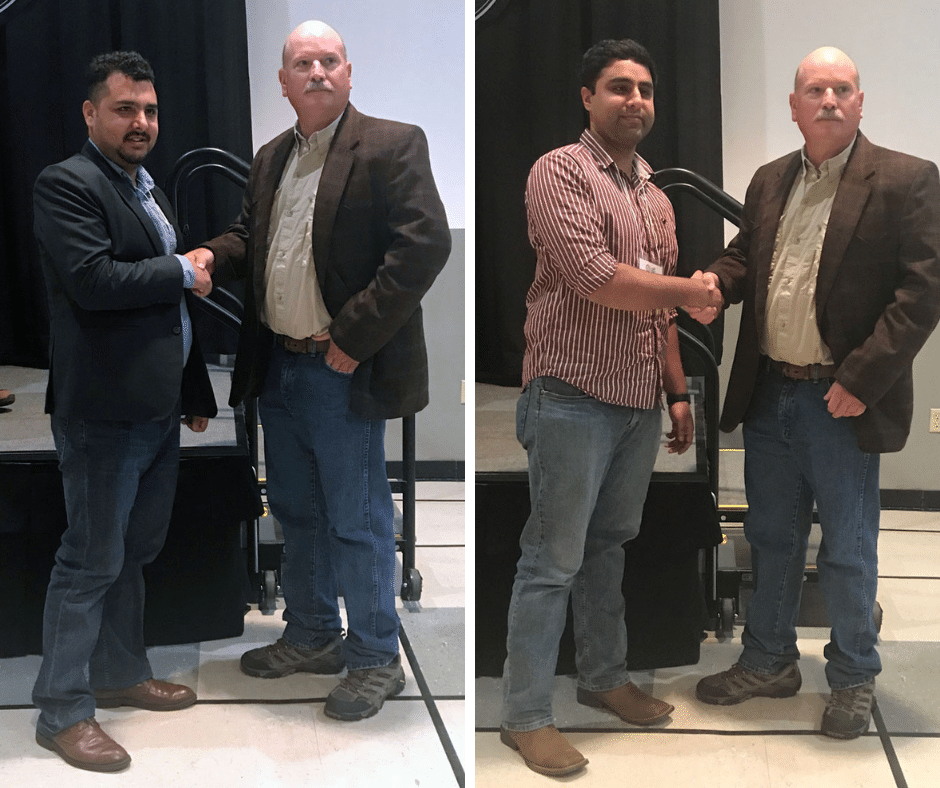 Mississippi INBRE Researchers Awarded for Research Excellence at the Mississippi Entomological Association Conference