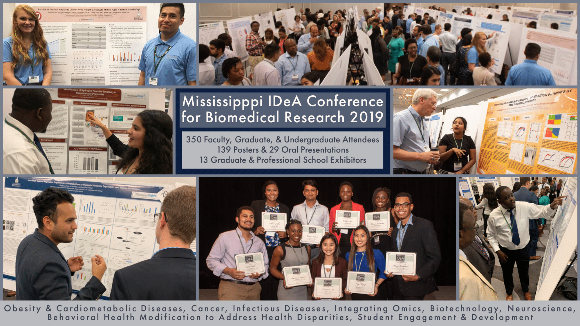 Impact of the Second Annual Mississippi IDeA Conference for Biomedical Research