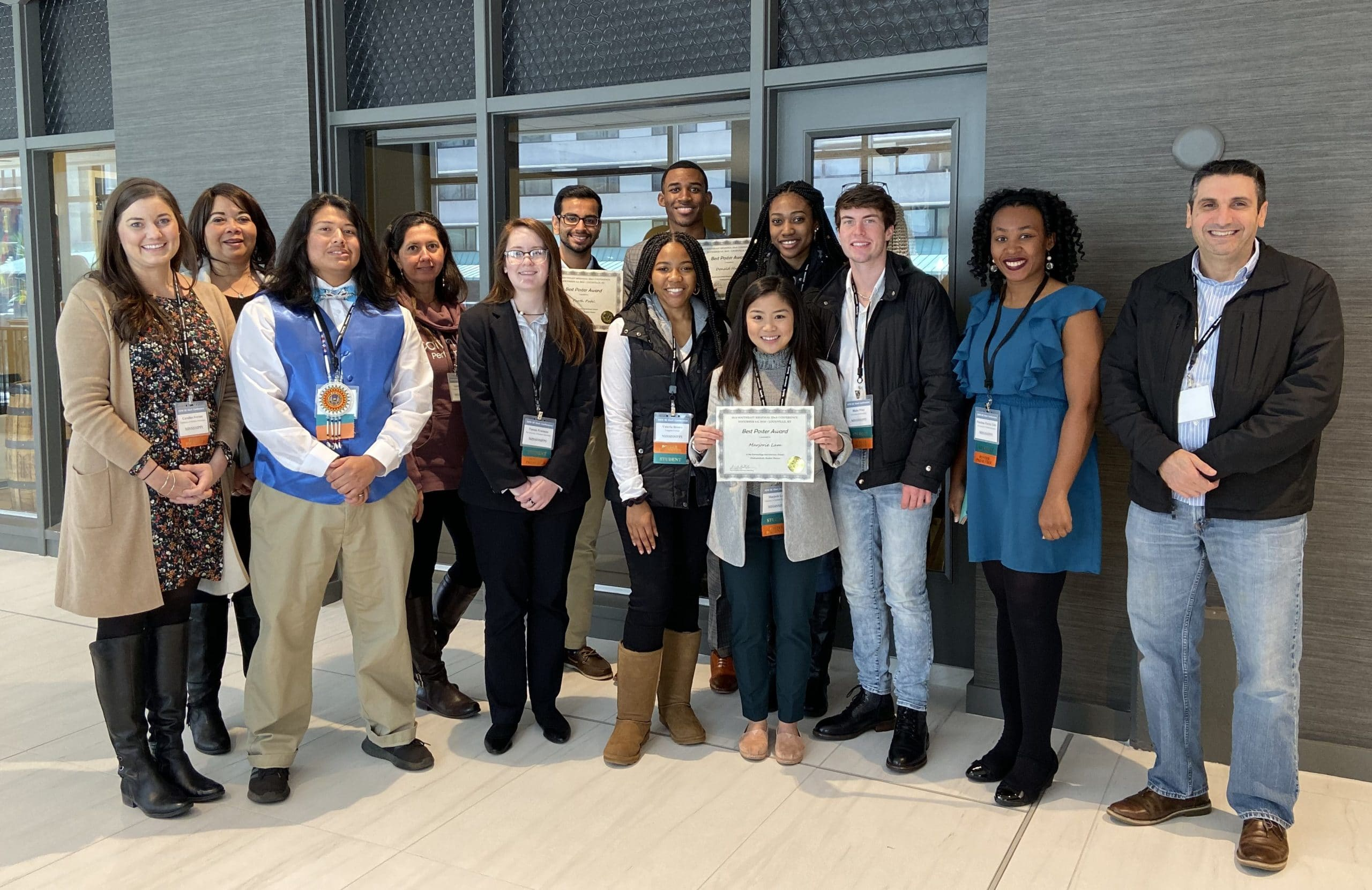 Mississippi INBRE Scholars go to Southeast Regional IDeA Conference