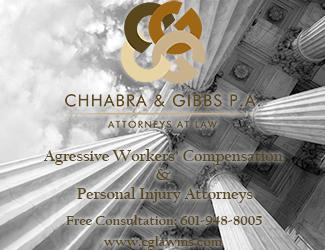 Chhabra & Gibbs, P.A. Advertisement