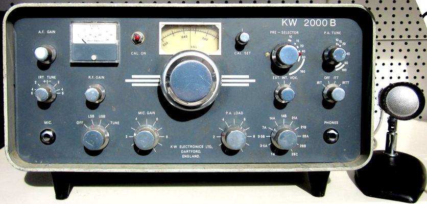 KW 2000B tx-rx