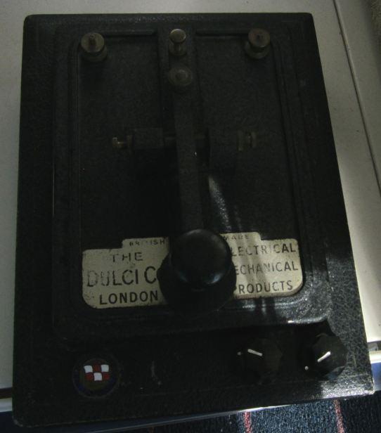 Vintage DULCI Morse Key