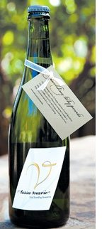 February's Wine: Tessa Marie's 2013 Sparkling Vermentino