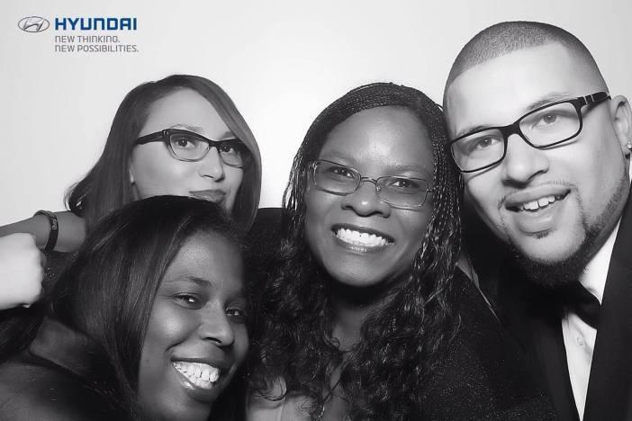 Left to Right – April Rushing, Tatiana EL-Khouri, Cheryl L. Bedford, Bradinn French at the 2014 NAACP Image Awards Governor's Ball