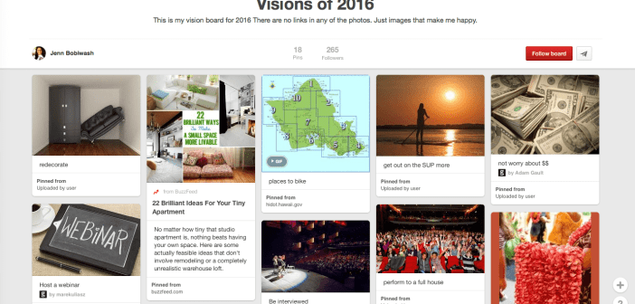 Creating Your Digital Vision Board