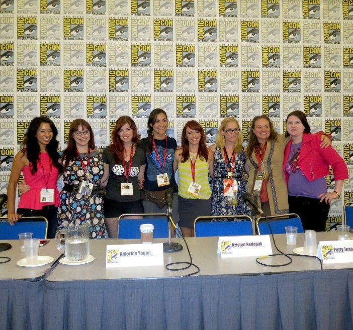 #SPARK panel at San Diego Comic-Con