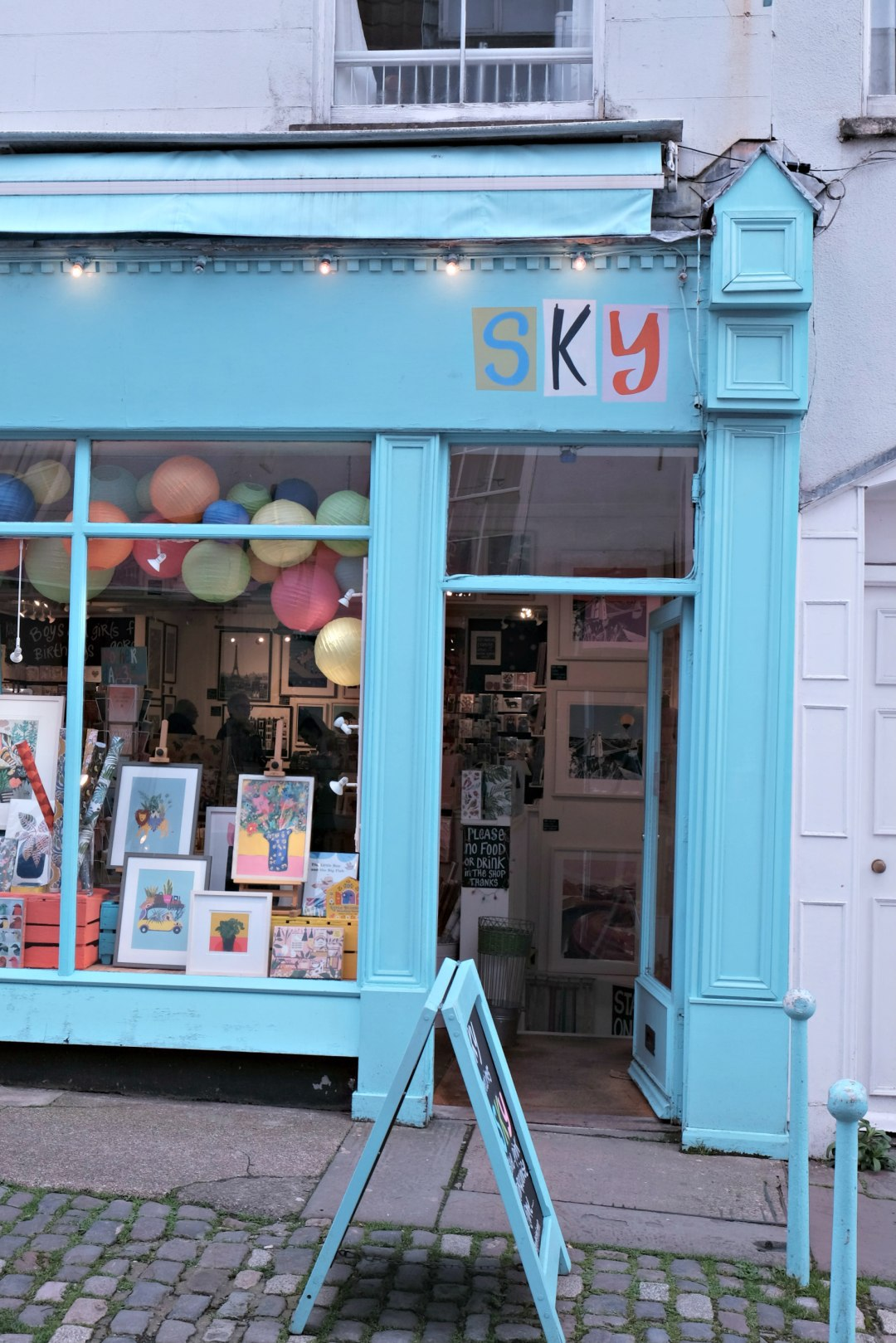 Picture of Sky shop in Clifton Village.  48 hours in clifton itinerary.
