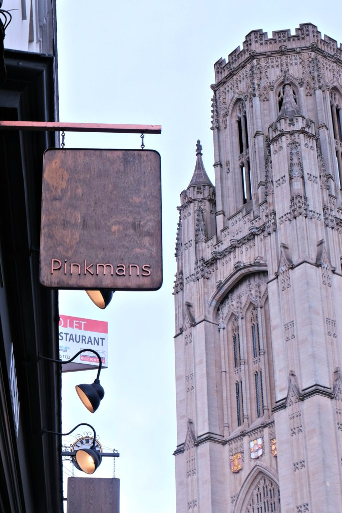 Picture of the Pinkmans sign.  48 hours in clifton itinerary.