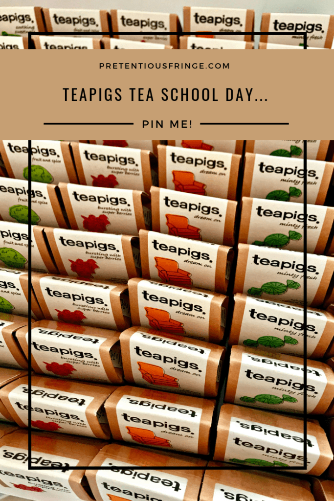 Pin this image to your pinterest board.  Teapigs Tea School Day.