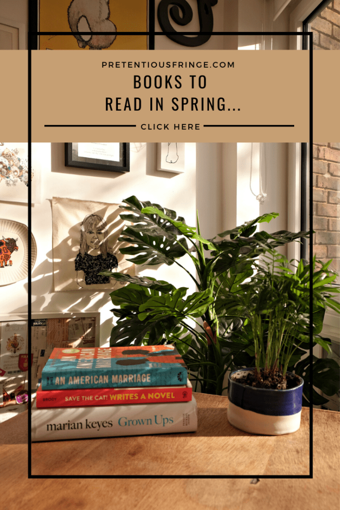 Books to read in spring pinterest - pin me!