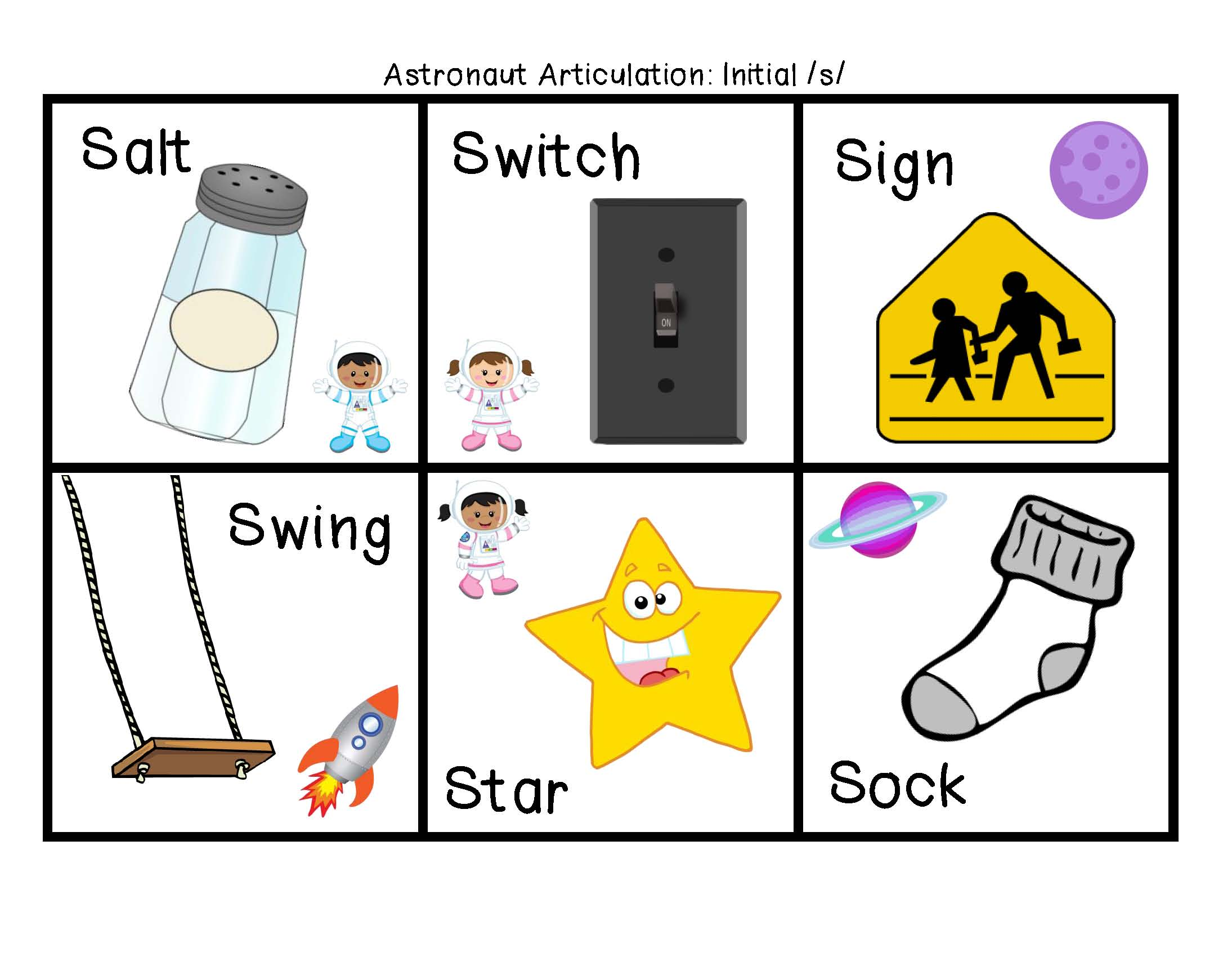 Images About Speech Letter S