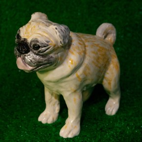 clay, slips, earthenware, stoneware, pug, dogs, dog, West Village, New York, Greenwich House Pottery