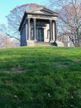 Temple mausoleum.