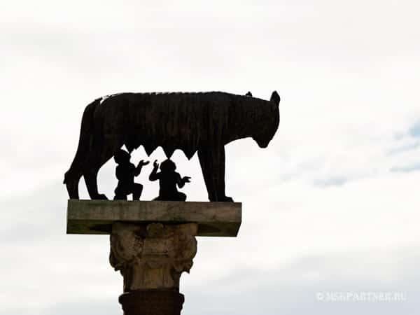 Волчица - символ Рима