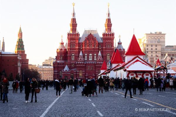Моя экскурсия в Исторический музей в Москве