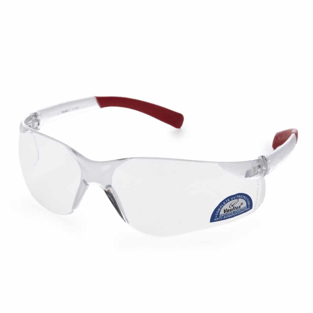 Sicherheitsbrille - RED MIRROR CLEAR