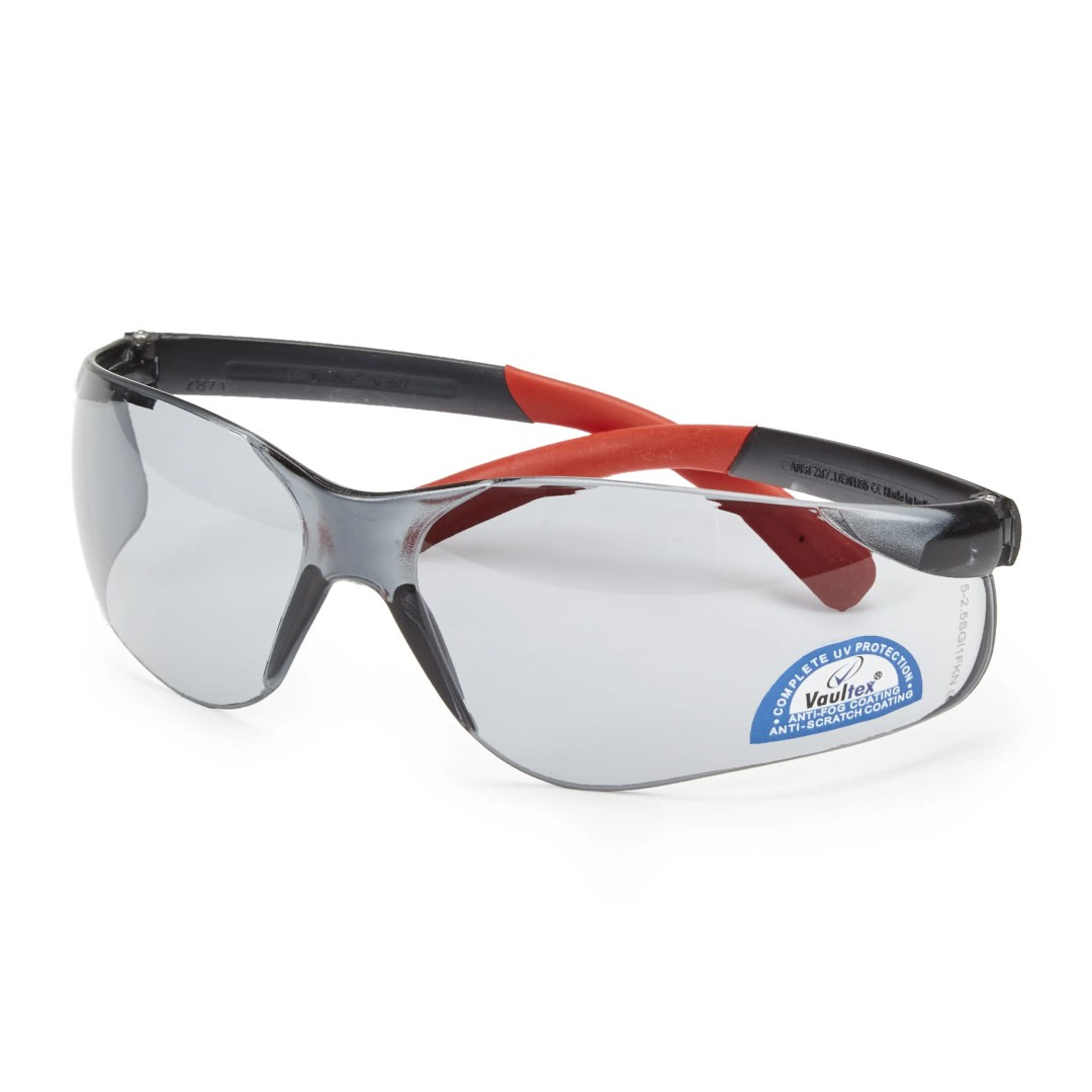 Sicherheitsbrille - RED MIRROR DARK
