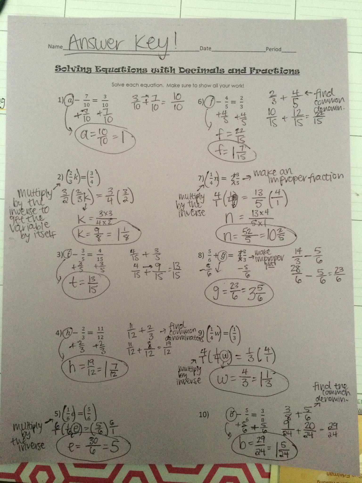 Ms Kratofil S Math Class