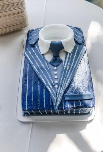 dapper mens cake