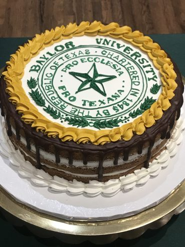 Baylor university grooms cake