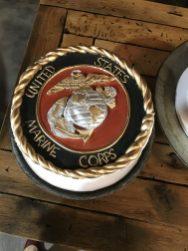 Marines grooms cake