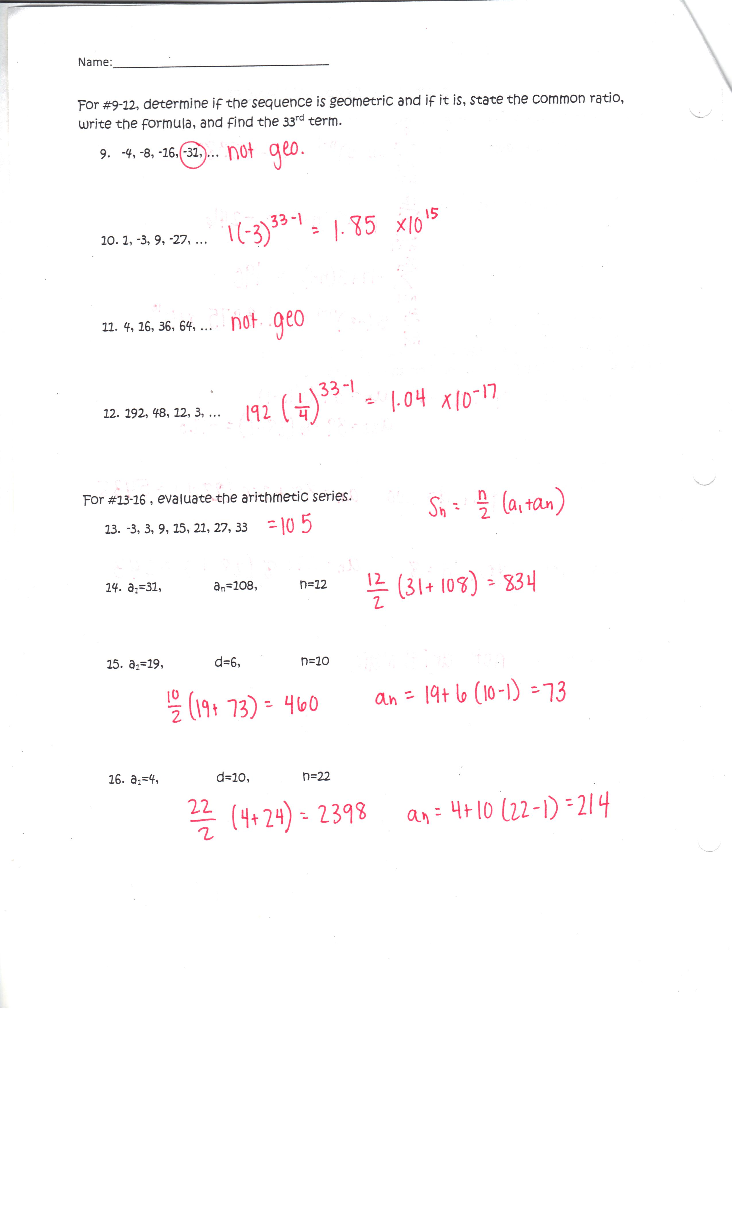 Advanced Algebra Ii