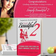 MsLindsayM co-author of Simply Beautiful