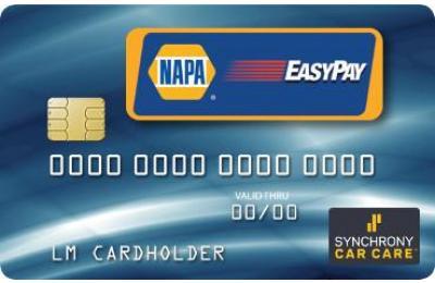 Synchrony NAPA EasyPay