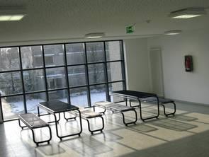 Im Inneren des Neubaus