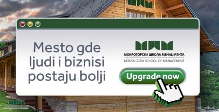 Menadžment programi • Mokrogorska škola menadžmenta