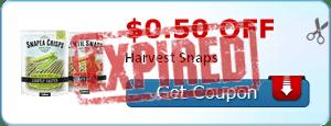$0.50 off Harvest Snaps