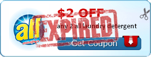 $2.00 off any 2 all laundry detergent