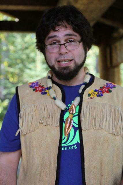 Native Alaskan man, Anchorage, Alaska