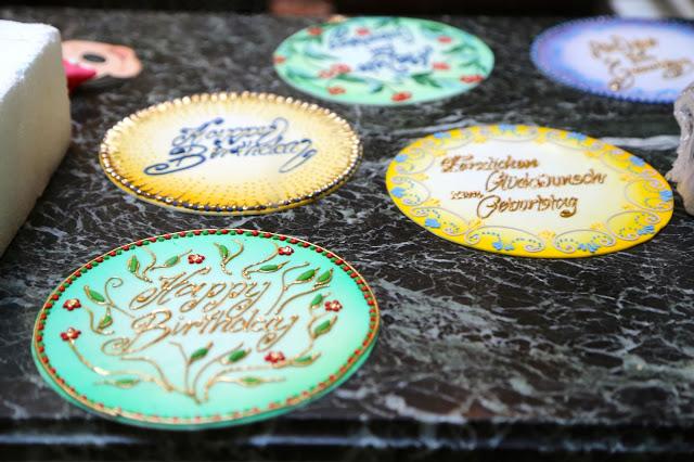 Sugar craft, cafe demel, Vienna