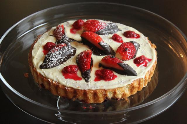 cake at villa rose, samoens, Alps, France
