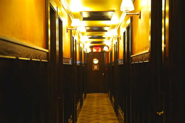 The spooky corridors at The Jane hotel, New York