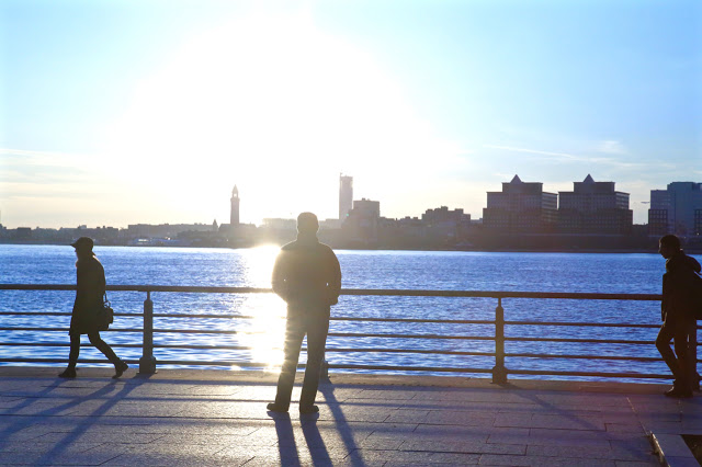 View by The Hudson river, New York
