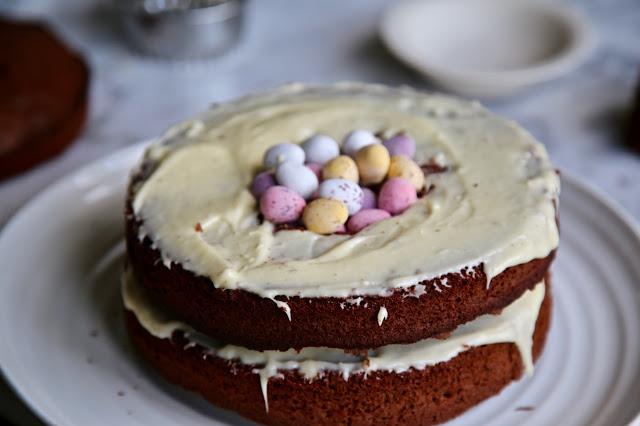 Easter pinata cake