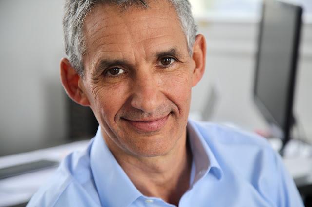 Professor Tim Spector at St Thomas' hospital, London
