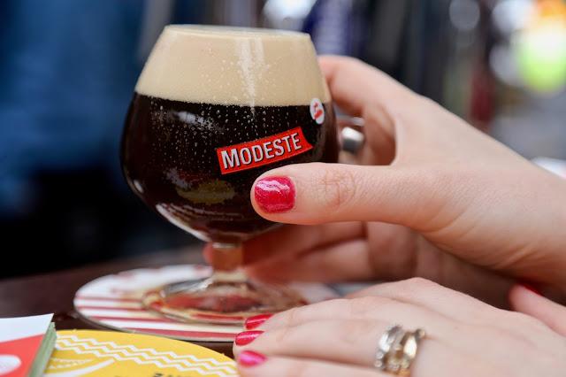 Liefmans beer,, Antwerp, Modeste beer festival