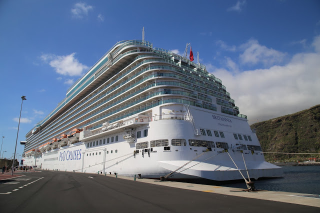 Britannia, P and O cruise ship. pic: Kerstin Rodgers/msmarmitelover
