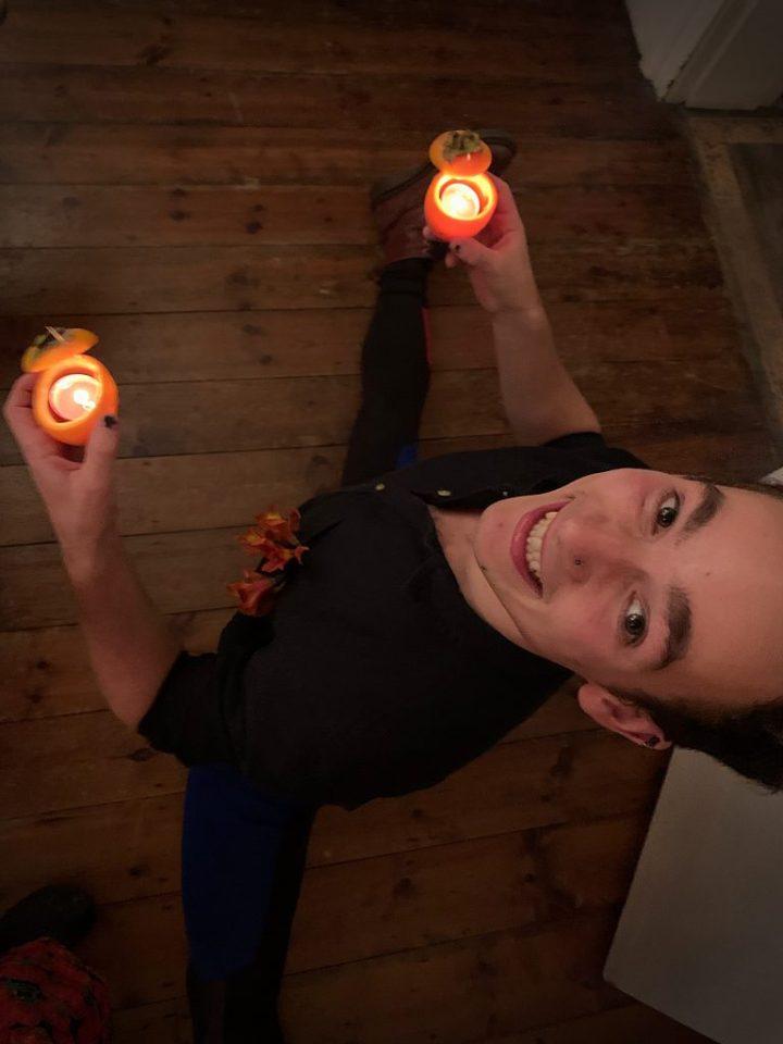 spanish persimon supperclub halloween pic: Kerstin rodgers/msmarmitelover.com